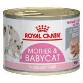 Royal Canin Mother&Babycat консервы  для котят и кормящих кошек 195 г