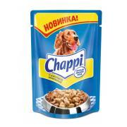 Chappi для собак всех пород с аппетитной курочкой, 100 г