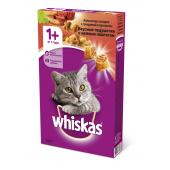 Whiskas аппетитное ассорти с нежным паштетом, говядиной и кроликом