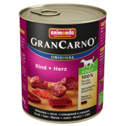 Gran Carno Adult с говядиной и сердцем 800 г