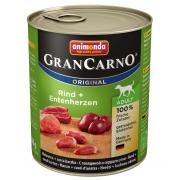 Gran Carno Adult с говядиной и сердцем утки, 800 г