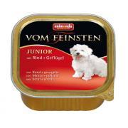 Vom Feinsten консервы с говядиной и мясом домашней птицы для щенков