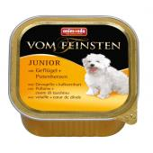 Vom Feinsten консервы с мясом домашней птицы и сердцем индейки для щенков