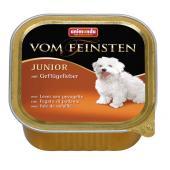 Vom Feinsten консервы с печенью домашней птицы для щенков и юниоров