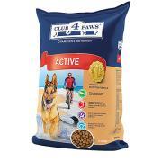 Club 4 paws сухой корм для взрослых активных собак (целый мешок 12 кг)