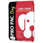 Pro Pac Dog Adult Chunk полнорационный корм для нормально активных собак (целый мешок 20 кг)