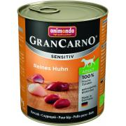 Gran Carno Adult Sensitive с курицей для собак с чувствительным пищеварением, 800 г