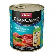 Gran Carno Adult для взрослых собак с говядиной, лососем и шпинатом, 800 г