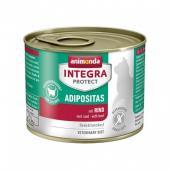 Animonda Integra Protect  Adipositas влажный корм для кошек с избыточным весом с говядиной