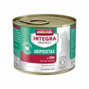 Animonda Integra Protect  Adipositas влажный корм для кошек с избыточным весом с говядиной, 200 г