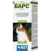 Барс инсектоакарицидный спрей для кошек