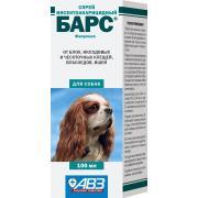 Барс инсектоакарицидный спрей для собак 100 мл