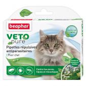 Beaphar Veto Pure биокапли от паразитов для кошек, 1 пипетка
