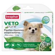 Beaphar Veto Pure биокапли от паразитов для собак мелких пород, 1 пипетка