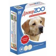 ДокторZOO полезное и вкусное лакомство для собак с морскими водорослями, 90 табл.