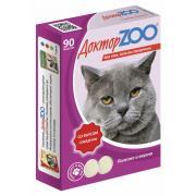 ДокторZOO полезное и вкусное лакомство для кошек со вкусом говядины, 90 табл.