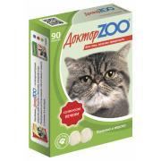 ДокторZOO полезное и вкусное лакомство для кошек со вкусом печени, 90 табл.