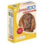 ДокторZOO полезное и вкусное лакомство с биотином для собак со вкусом сыра, 90 табл.