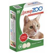 ДокторZOO полезное и вкусное лакомство  с таурином и L-карнитином для кошек, 90 табл.
