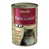 Brocconis с домашней птицей и сердцем
