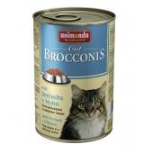 Brocconis с сайдой и курицей