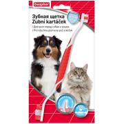 Beaphar Toothbrush двойная зубная щетка для всех пород собак и кошек