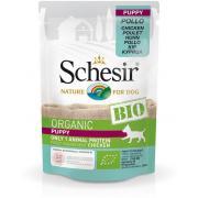 Schesir Organic Bio Puppy с курицей для щенков, 85 г