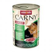 Carny Adult консервы с говядиной, индейкой и кроликом