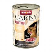 Carny Kitten консервы с говядиной и домашней птицей для котят, 400 г