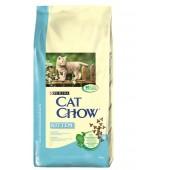 Cat Chow корм для котят с курицей (целый мешок 15 кг)
