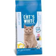Cat's White комкующийся наполнитель с ароматом марсельского мыла, 5 кг