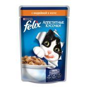 Felix аппетитные кусочки с индейкой в желе