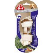 Жевательные кости с говядиной внутри для собак весом от 2 до 27 кг
