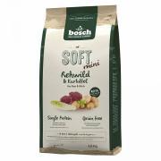 Bosch Soft Mini полувлажный беззлаковый корм для взрослых собак мелких пород с чувствительным пищеварением, склонных к аллергии и пищевой непереносимости с косулей и картофелем
