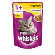Whiskas мини-филе с курицей, 85 г