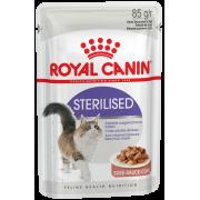 Royal Canin Sterilised влажный корм для стерилизованных кошек в соусе, 85 г