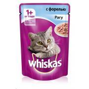 Whiskas рагу с форелью