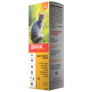 Дана спрей препарат для борьбы с эктопаразитами для кошек, 95 мл
