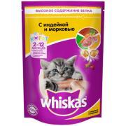 Whiskas для котят аппетитное ассорти с индейкой и морковью, 350 г