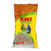 Kiki Luxe полнорационный зерновой корм для волнистых попугаев, 1 кг