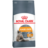 Royal Canin Hair&Skin Care сухой корм для взрослых кошек в целях поддержания здоровья кожи и шерсти (целый мешок 10 кг)