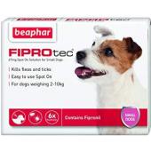 Beaphar Fiprotec капли от блох и клещей для собак весом от 2 до 10 кг,1 пипетка