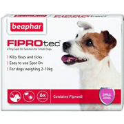 Beaphar Fiprotec капли от блох и клещей для собак весом от 2 до 10 кг