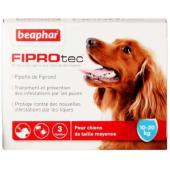 Beaphar Fiprotec капли от блох и клещей для собак весом от 10 до 20 кг