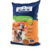 Club 4 paws полнорационный сухой корм для взрослых собак малых пород (целый мешок 12 кг)
