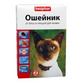 Beaphar ошейник от блох и клещей для кошек 35 см