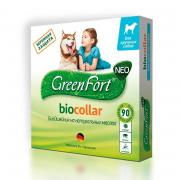 Green Fort био ошейник на натуральных маслах для крупных собак 75 см, зеленый