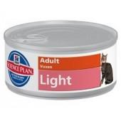 Hill's Science Plan Light Adult для взрослых кошек с избыточным весом 9855XT