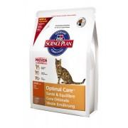Hill's Science Plan Adult Optimal Care для взрослых кошек с ягненком 5143M (целый мешок 5 кг)