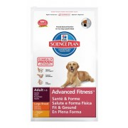 Hill's Science Plan Adult Advanced Fitness Large Breed для взрослых собак крупных пород с курицей 9270М (целый мешок 12 кг)